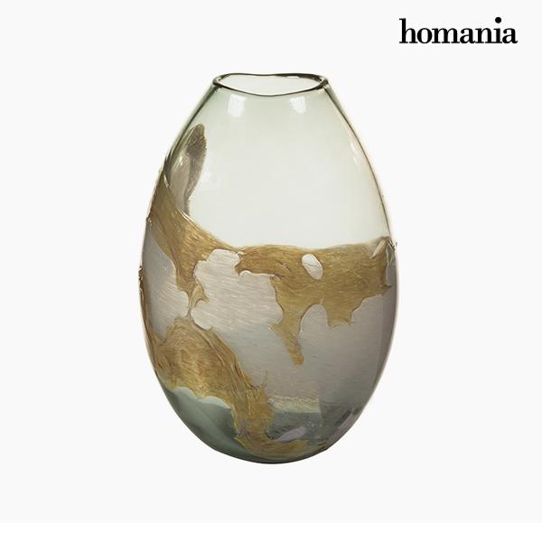 Vaso Geam (20 x 13 x 28 cm) - Pure Crystal Deco Collezione by Homania