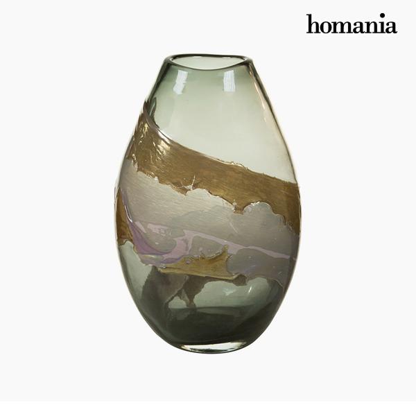 Vaso Geam (23 x 15 x 35 cm) - Pure Crystal Deco Collezione by Homania