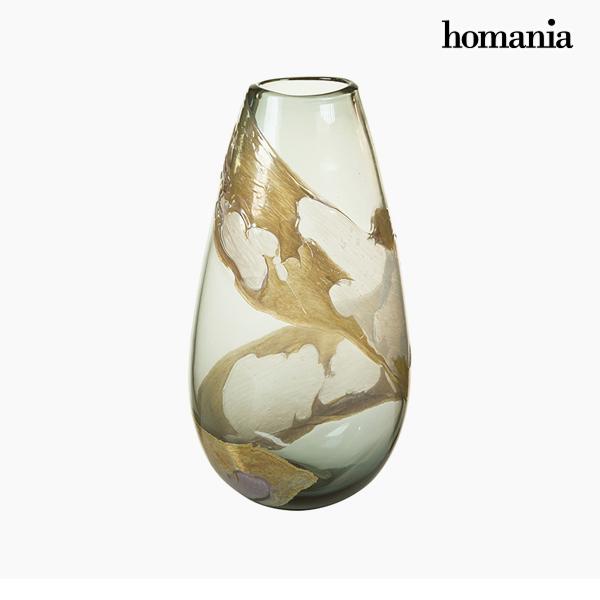 Vaso Geam (21 x 14 x 37 cm) - Pure Crystal Deco Collezione by Homania