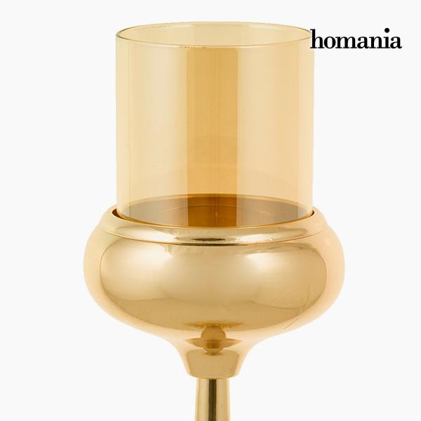 Candelabro Dorado - Colección Queen Deco by Homania (1)