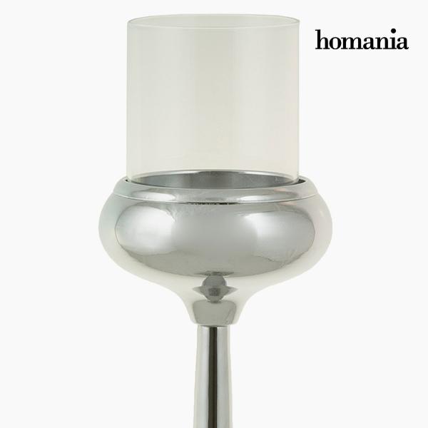 Candelabro Plateado - Colección Queen Deco by Homania (1)