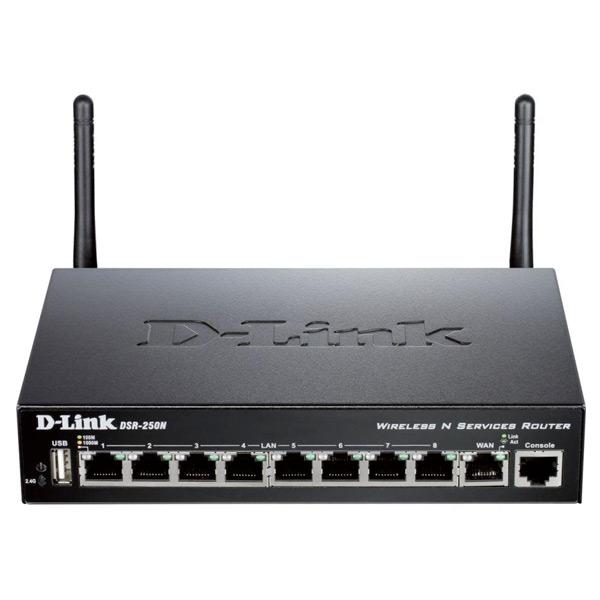 Router D-Link DSR-250N Wifi 300 Mbps