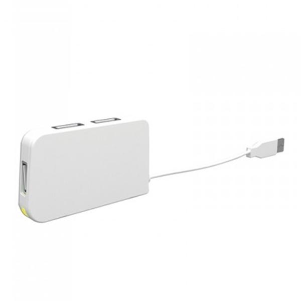 Hub USB 4 Porte approx! APPHT4W USB 2.0 Bianco