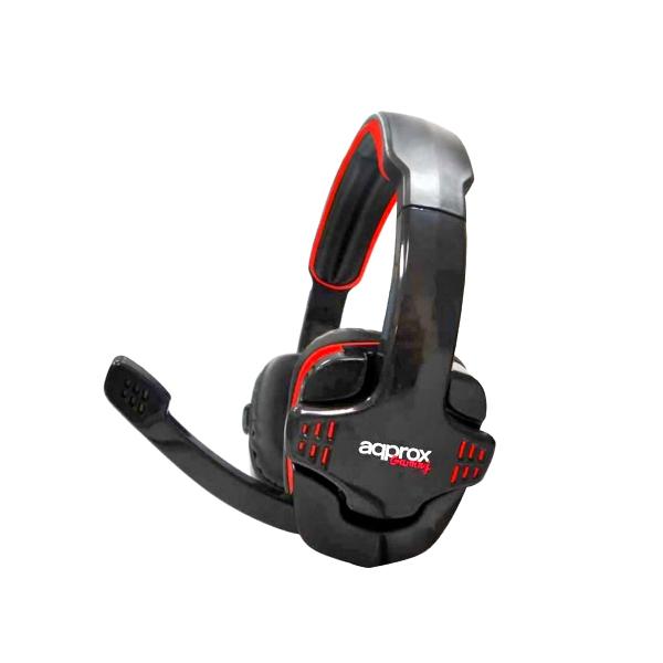 approx Slušalke+mikrofon Gaming appGH9 Črne-rdeče/črne
