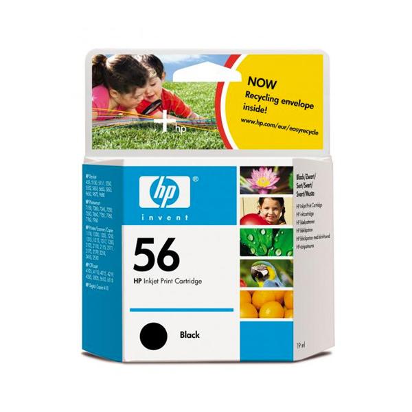 HP no.56 Kartuša Črna C6656AE Deskjet 5550
