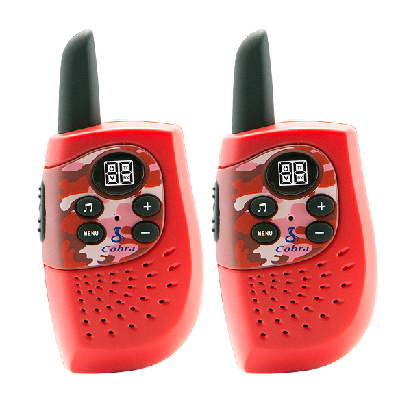 Walkie-Talkie Cobra PMR HM230 3 KM Rosso