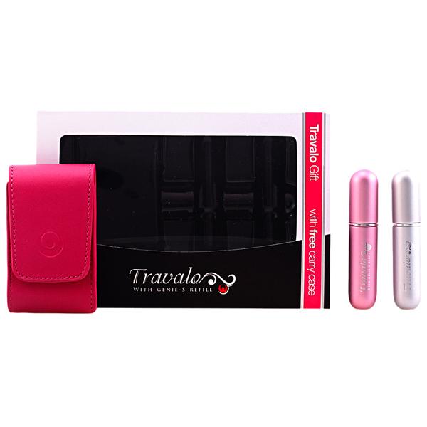 Travalo - TRAVALO PINK&SILVER LOTE 3 pz