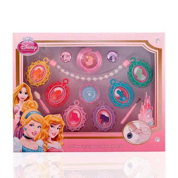 Disney - LIPGLOSS CHARM BRACELET SET 11 pz
