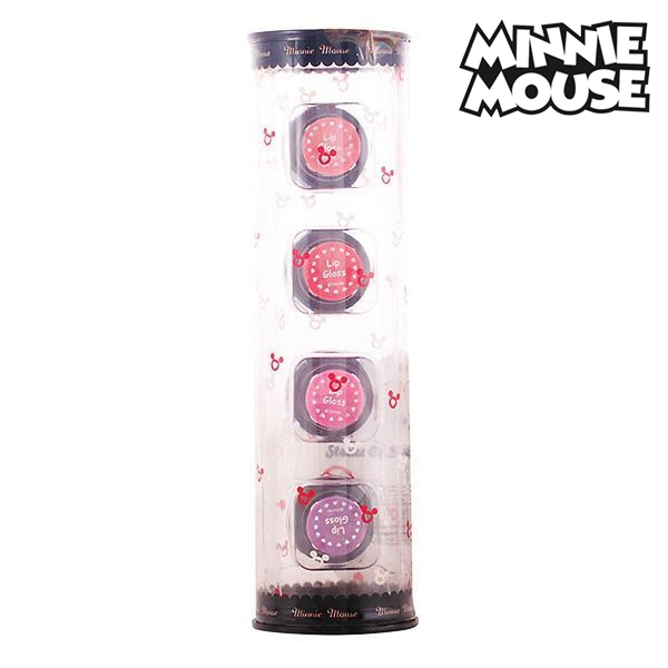 Minnie Mouse - STACKS OF STYLE LIPGLOSS SET 4 pz