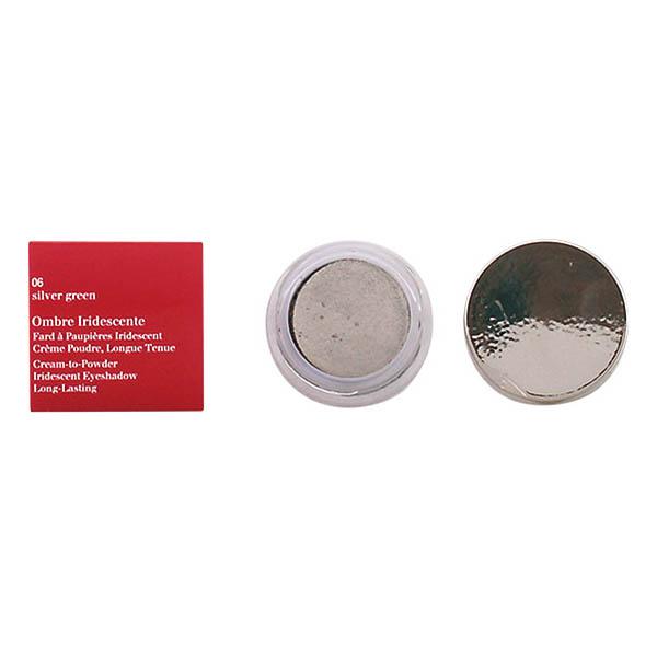 Clarins - OMBRE IRIDESCENTE 06-silver green 7 gr
