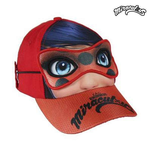 Otroška čepica z masko Lady Bug 818 (53 cm)