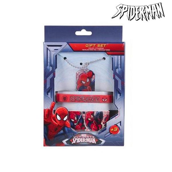 Set di Collana e Bracciali Spiderman 91009