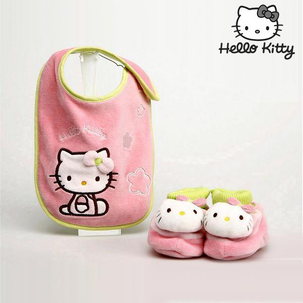 Komplet slinček in copatki Hello Kitty 9425