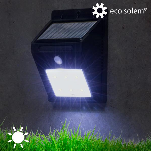 Luz Solar con Sensor de Movimiento Eco Solem