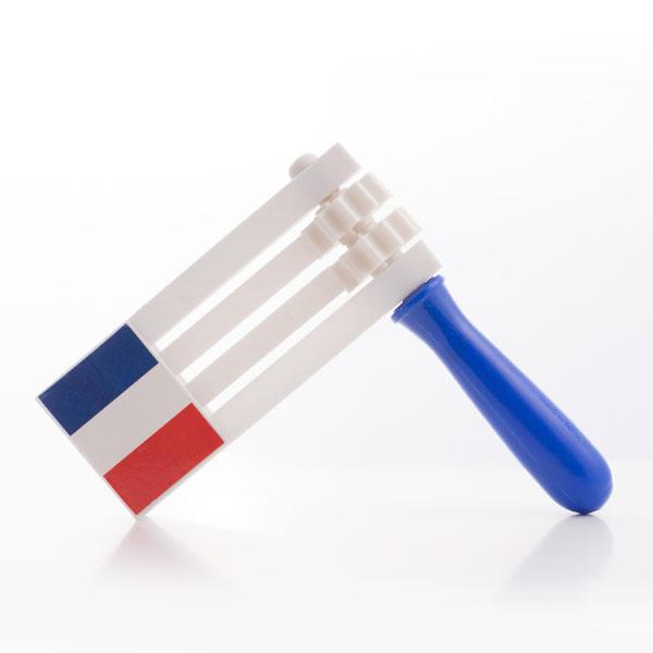 Raganella Bandiera della Francia