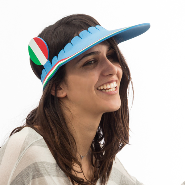 Visiera Bandiera Italiana