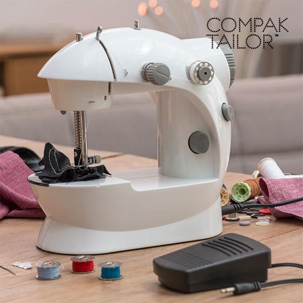 Prenosni Šivalni Stroj Compak Tailor 220/110