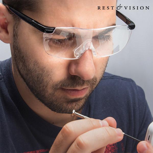 Povečevalna Očala Rest & Vision