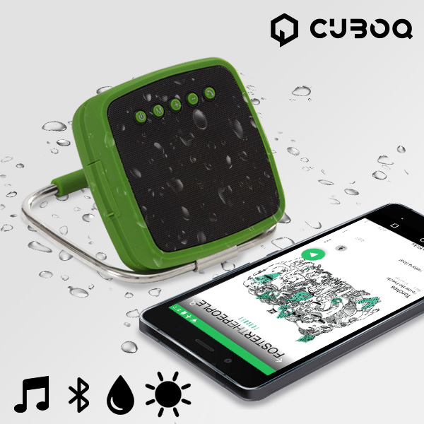 Altoparlanti Bluetooth Portatili CuboQ Solar Power