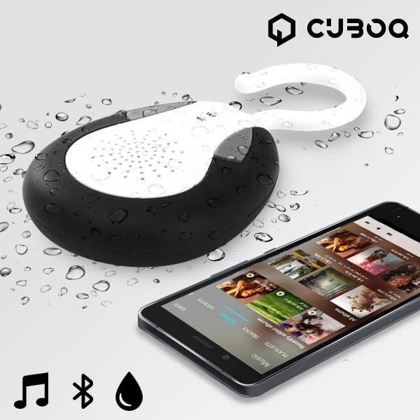 Altoparlanti Bluetooth Waterproof CuboQ Shower