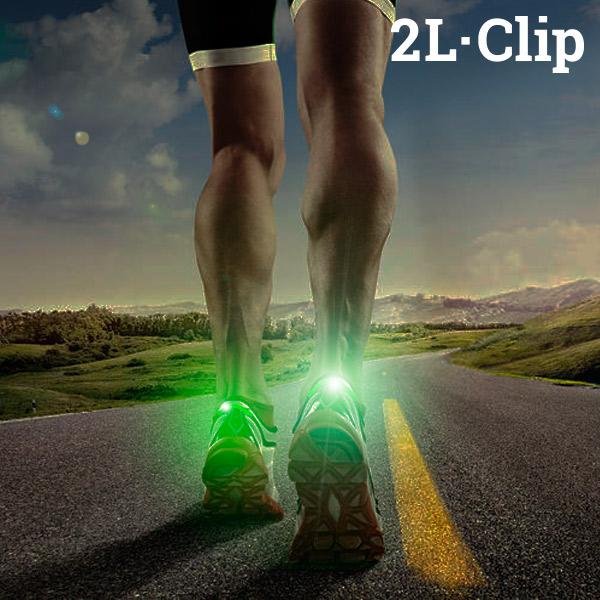 LED de Seguridad para Zapatillas 2L·Clip