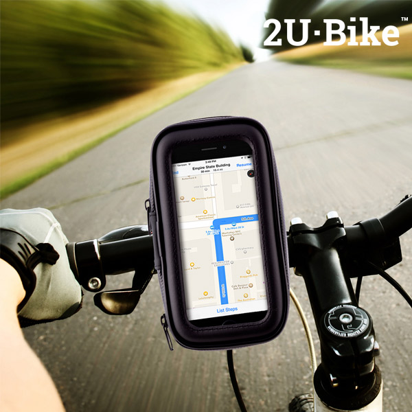 Funda con Soporte de Móvil para Bicicletas U2·Bike