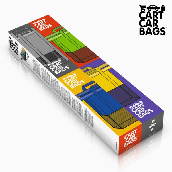 Sacs Organisateurs pour les Achats et le Coffre Cart Car Bags (paquet de 4)