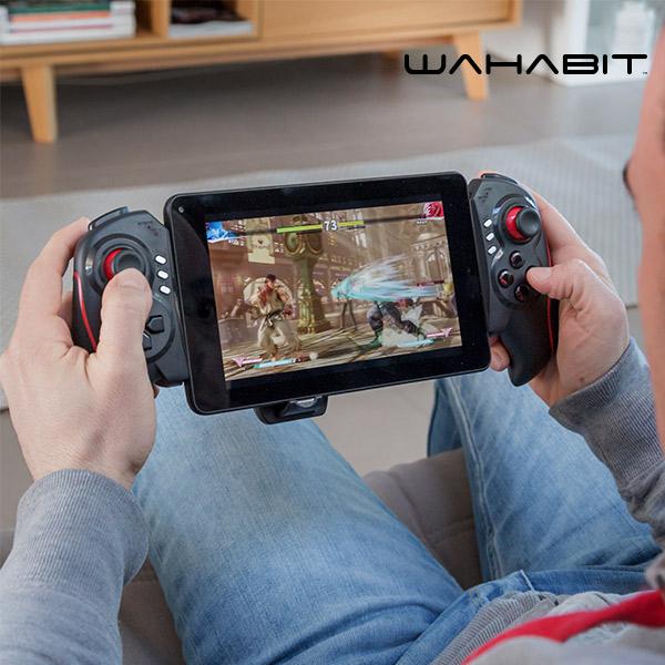 Gamepad Bluetooth para Smartphone y Tablet Wahabit BG-Telescopic