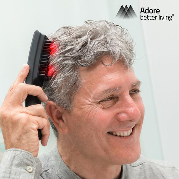Spazzola per Capelli Massaggiante e Anticaduta con Laser Hair�Force One