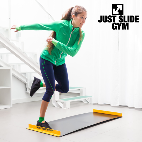 Tabla Deslizante con Vídeo de Entrenamiento Fitness Just Slide Gym
