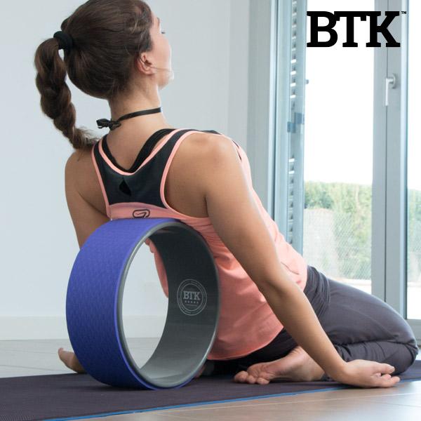 Rueda de Yoga y Pilates BTK