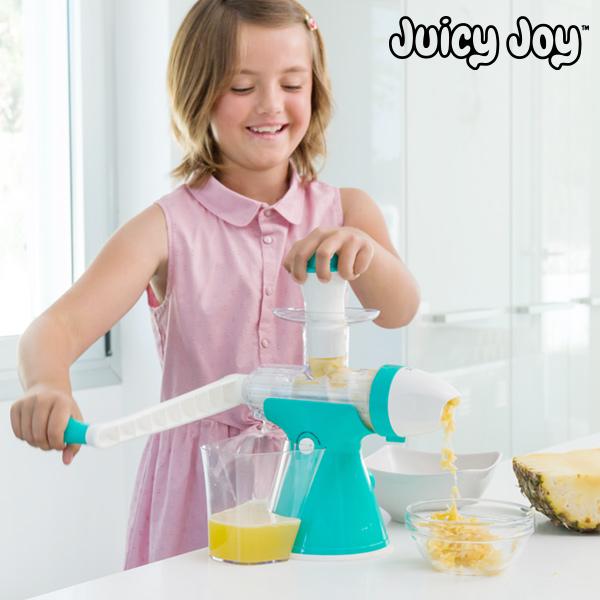 Macchina per Succhi di Frutta e Gelati con Manovella Juicy Joy