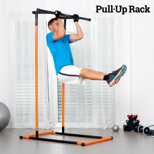 Estación de Dominadas y Fitness con Guía de Ejercicios Pull·Up Rack