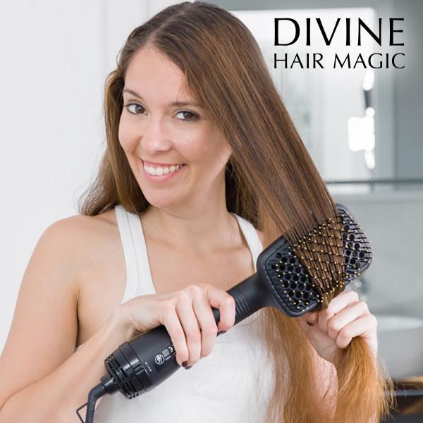 Brosse Électrique Sèche-Cheveux Magic Dryer & Styler