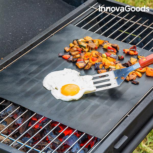 Tappetino per Forno e Barbecue InnovaGoods (Pacco da 2)