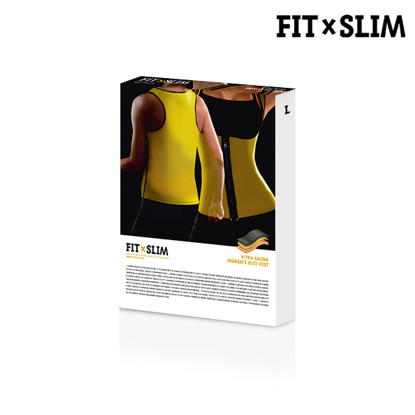 Gilet Sportivo X-Tra Sauna Women´s Suit Vest Fit x Slim