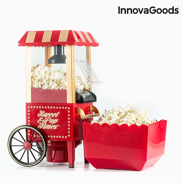 Machine à Popcorn InnovaGoods 1200W Rouge