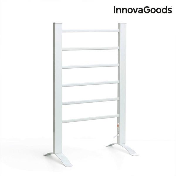 Porte-Serviettes Électrique InnovaGoods 90W Blanc (6 Barres)