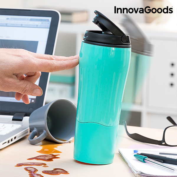 Bicchiere Termico con Ventosa Anticaduta InnovaGoods