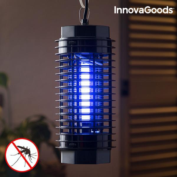 Lampada Antizanzare KL-1500 InnovaGoods 4W Nero