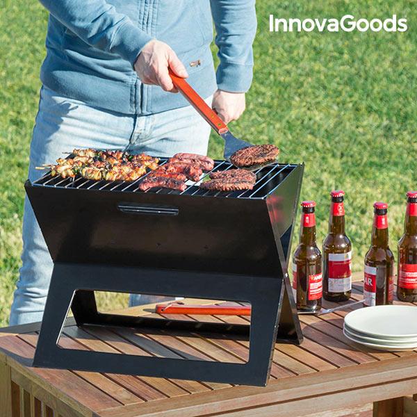 Barbecue a Carbone Portatile e Pieghevole InnovaGoods