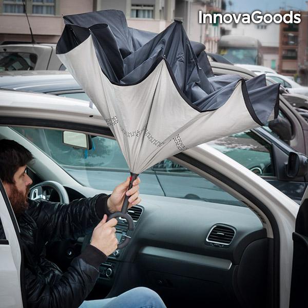 Ombrello a Chiusura Inversa InnovaGoods