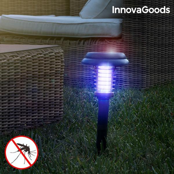 Lampada Antizanzare ad Energia Solare da Giardino SL-700 InnovaGoods