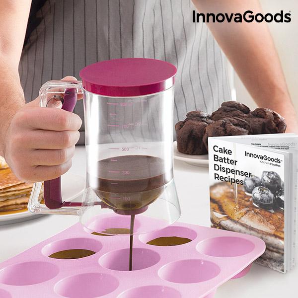 Caraffa Dispenser per Dolci con Ricettario InnovaGoods