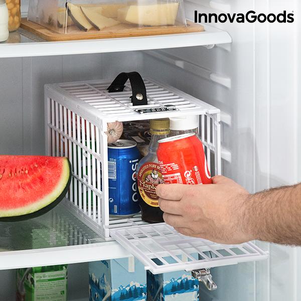 Gabbia di Sicurezza per Frigoriferi Food Safe InnovaGoods