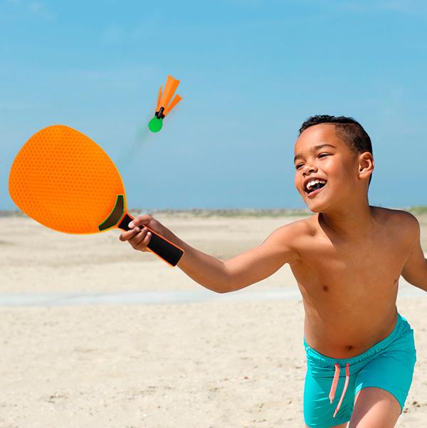 Igra za Plažo Badminton (4 deli) Intex