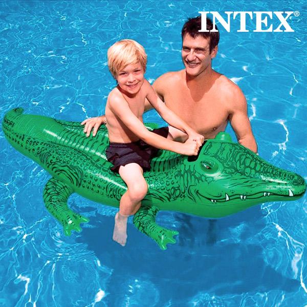 Napihljiv Krokodil Intex