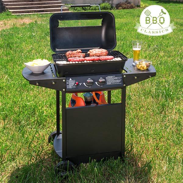 Barbacoa de Gas con Grill BBQ Classics 1834VA