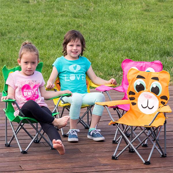 Otroški Zložljivi Stol Živali - Tiger