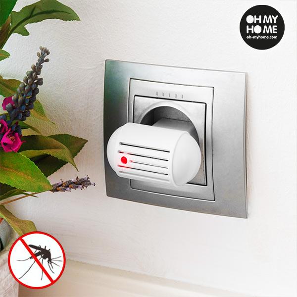 Antimosquitos Eléctrico por Ultrasonidos Oh My Home